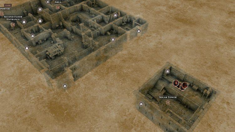 Solasta Crown Of The Magister Dark Castle Master's Maze Puzzle Руководство Aksha Boss Fight 3d