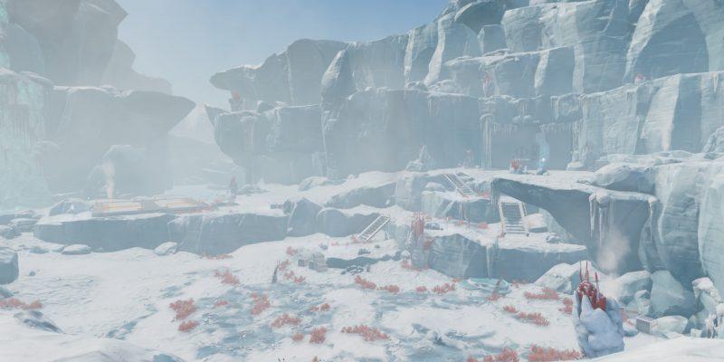 Subnautica Below Zero Glacial Basin Phi Robotics Center Cold Suit Spy Pengling Snowfox Guide