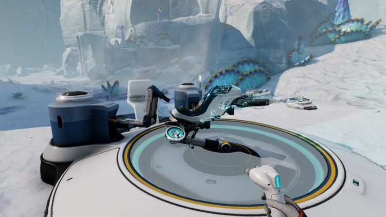Subnautica Below Zero Glacial Basin Phi Robotics Center Cold Suit Spy Pengling Snowfox Guide 1b