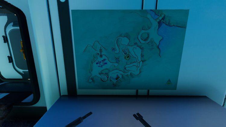 Subnautica Below Zero Glacial Basin Phi Robotics Center Cold Suit Spy Pengling Snowfox Guide Map