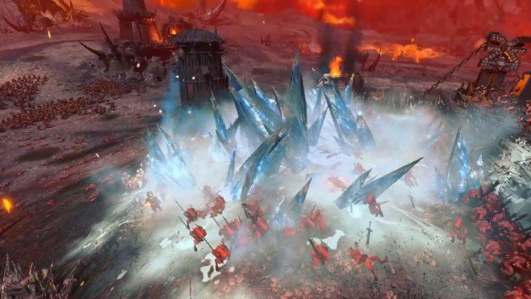 Total War Warhammer Iii Warhammer 3 Survival Battle Gameplay Showcase Trailer 3