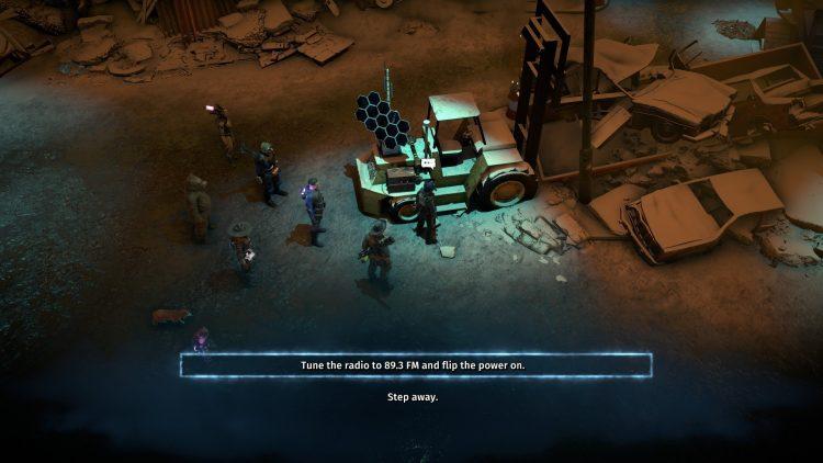 Wasteland 3 - Battle Of Steeltown Scrapyard Puzzle - Прохождение игры 2b