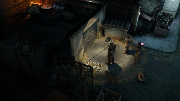 Wasteland 3 Ghost Garage Руководство по прохождению Blue Di 1a