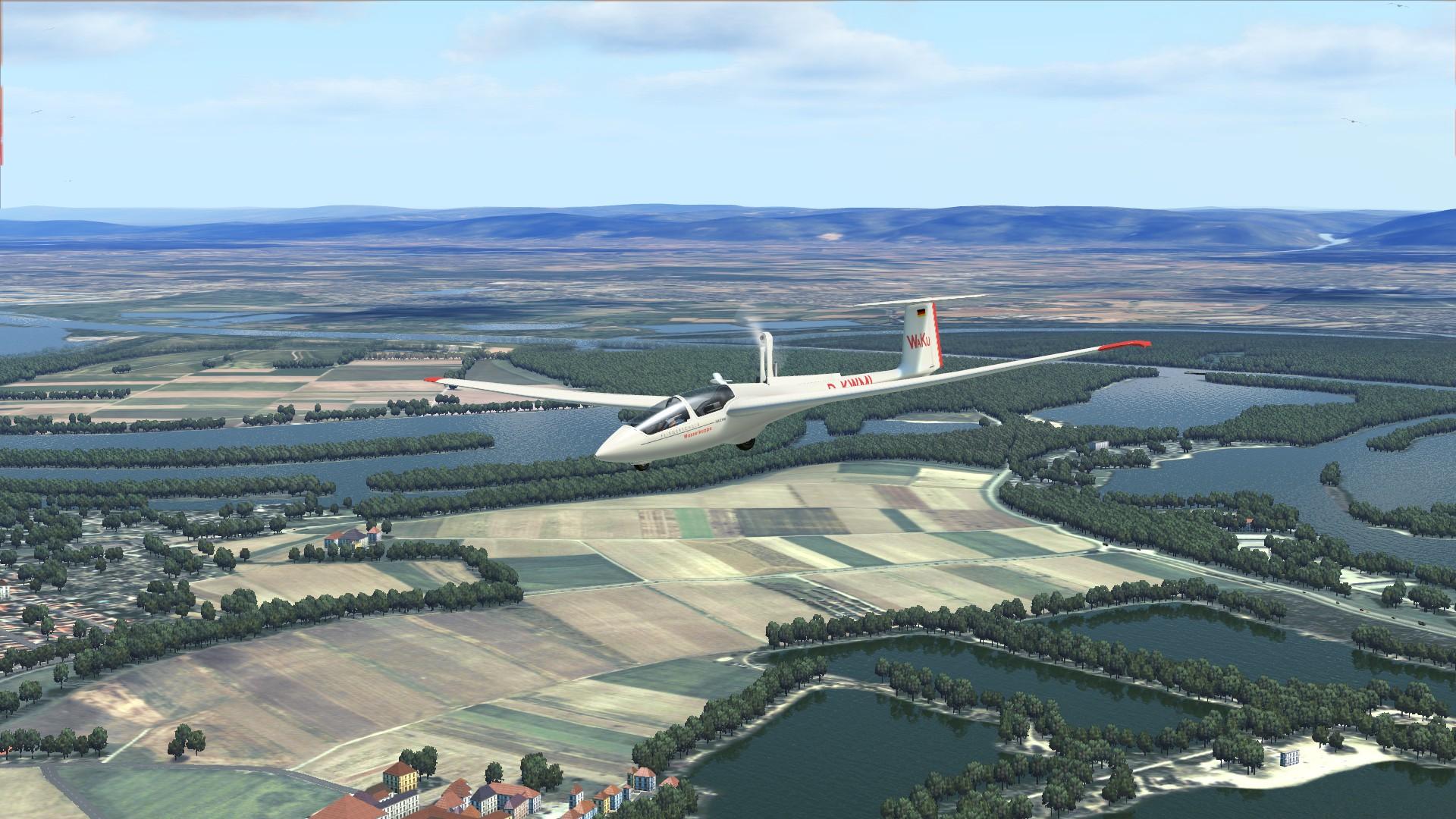 World Of Aircraft Glider Simulator Powered Flight