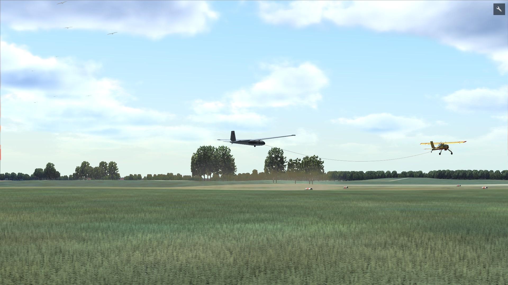 World Of Aircraft Glider Simulator Tow Plane