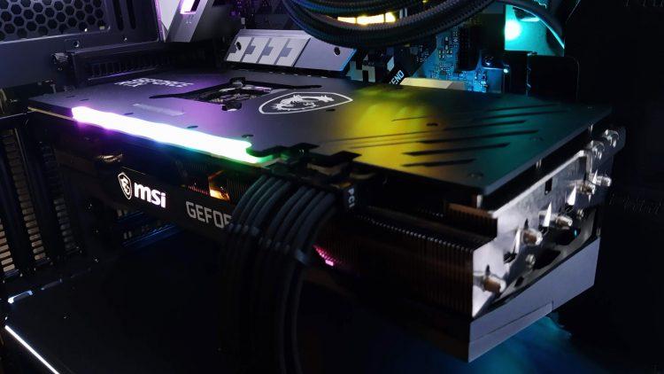Msi Gaming X Trio Rtx 3070 Nvidia Graphics Card Cover