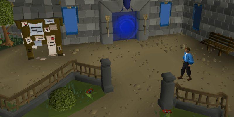 Old School Runescape Clans portal