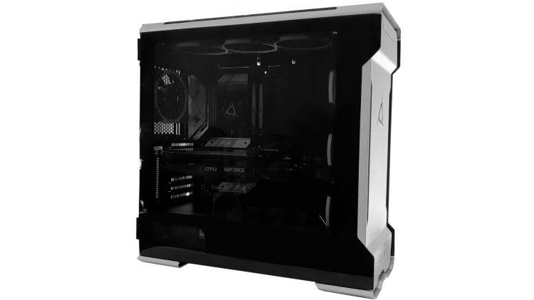 Phanteks Case Side Build Evolv Custom Gaming Pc