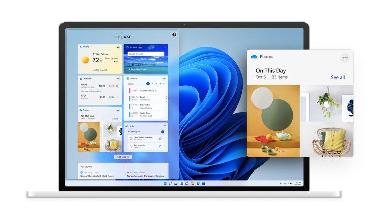 Windows 11 upgrade widgets