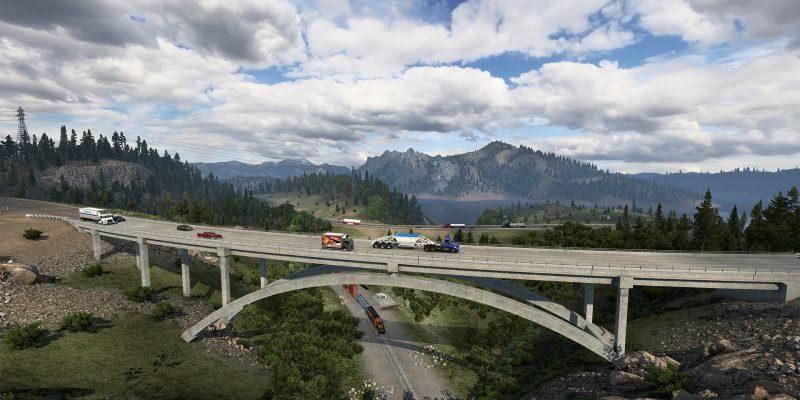American Truck Simulator California Reskin