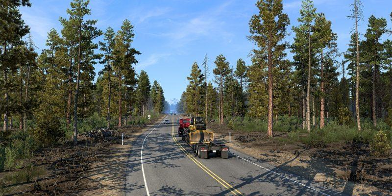 American Truck Simulator California Reskin Open Beta 1.41