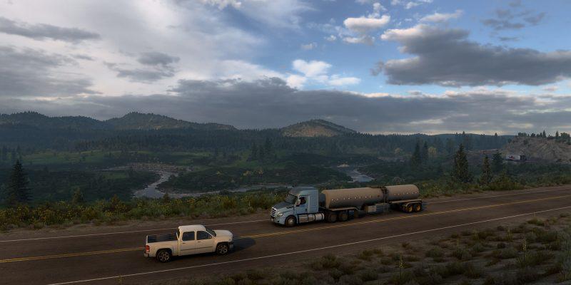 American Truck Simulator Wyoming Wip 1