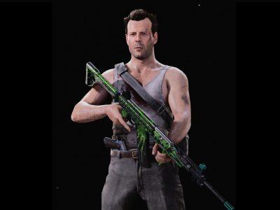 black ops cold war John McClane mp5
