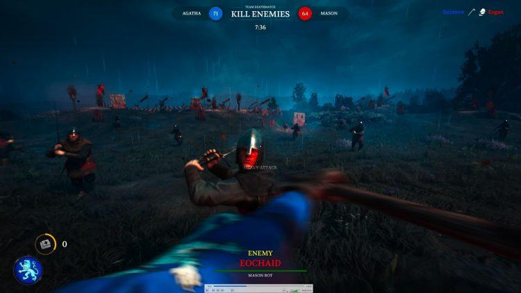 Руководство по боевой тактике игры на мечах Chivalry II 1