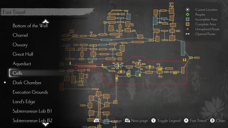 Эндер Лилийз Квайетус из Рыцарского форта Hoenir Boss Fight Guide 1a