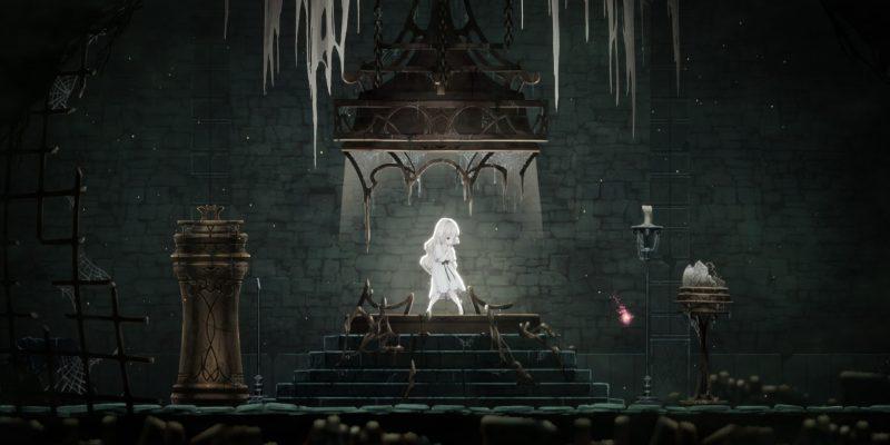 Ender Lilies Quietus Of The Knights Beginner's Guide Combat Tips White Parish Cliffside Hamlet Witch's Thicket Dark Witch Eleine