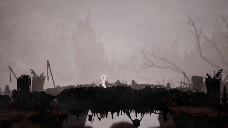 Ender Lilies Quietus Of The Knights Beginner's Guide Combat Tips White Parish Cliffside Hamlet Witch's Thicket Dark Witch Eleine 1a
