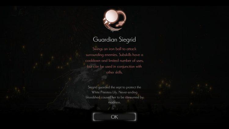 Ender Lilies Quietus Of The Knights Руководство по навыкам Руководство по реликвиям Best Spirit Skills 1
