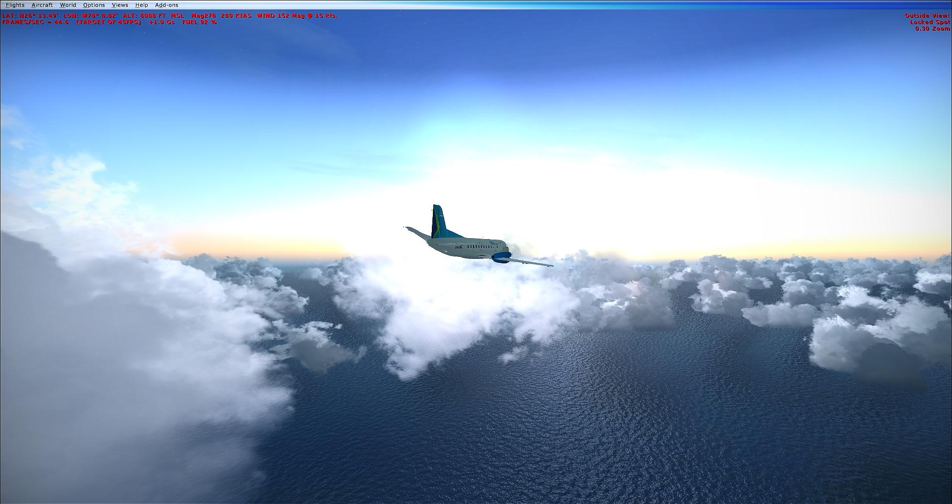 Fsx Rex Texture Direct 4 Saab Over The Ocean