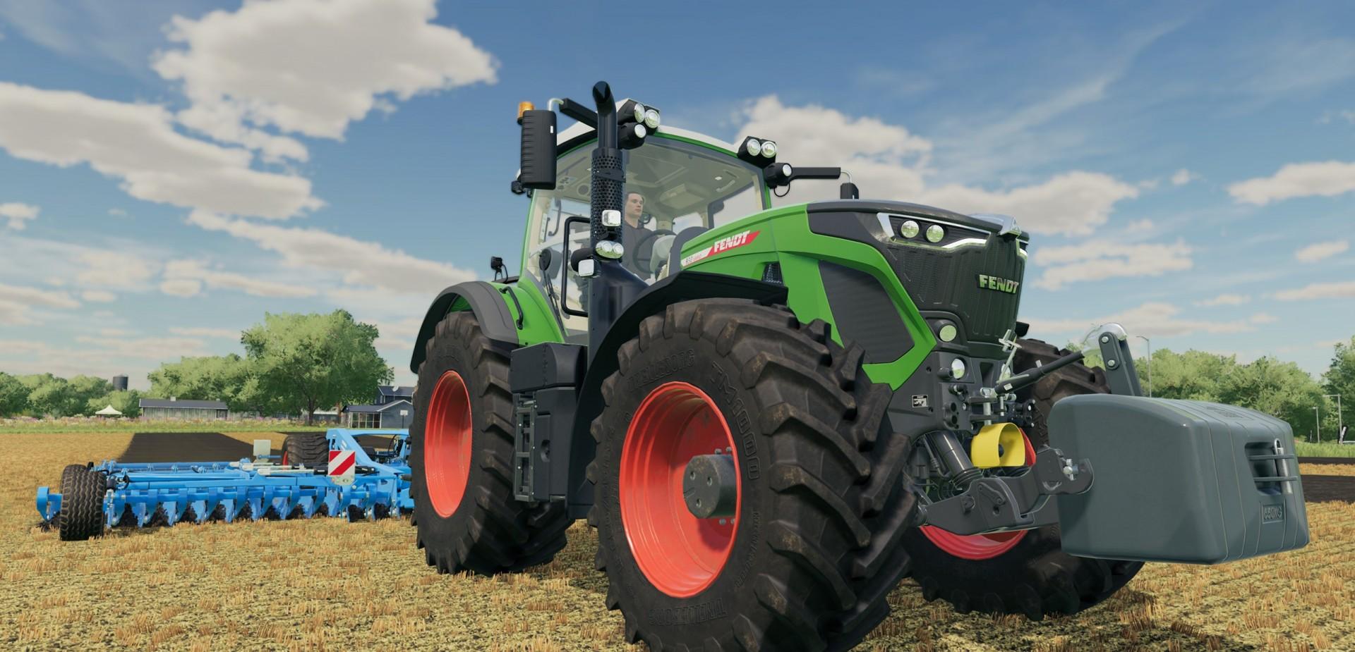 Farming Simulator 22 New Tractor Fendt