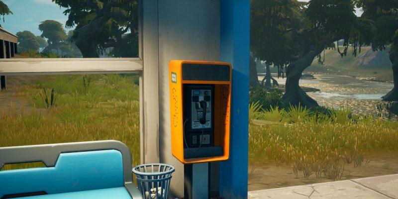 Fortnite Payphones Season 7 Challenge locations