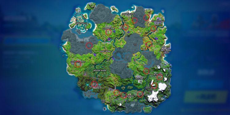 Fortnite Payphones Challenge Season 7 locations quest