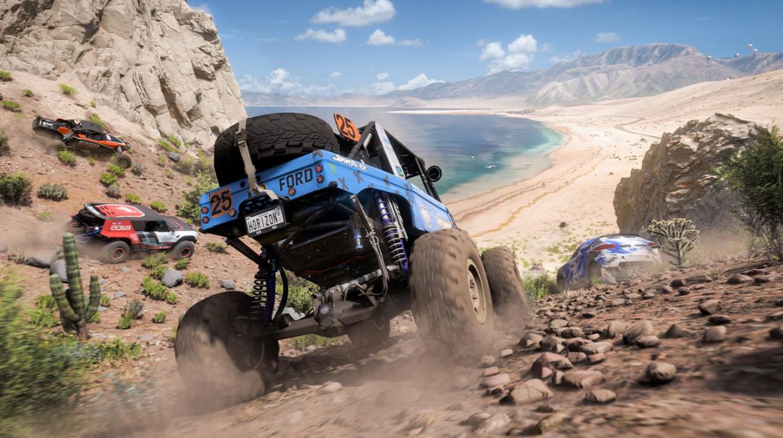Forza Horizon 5 Mexico Beach Charge