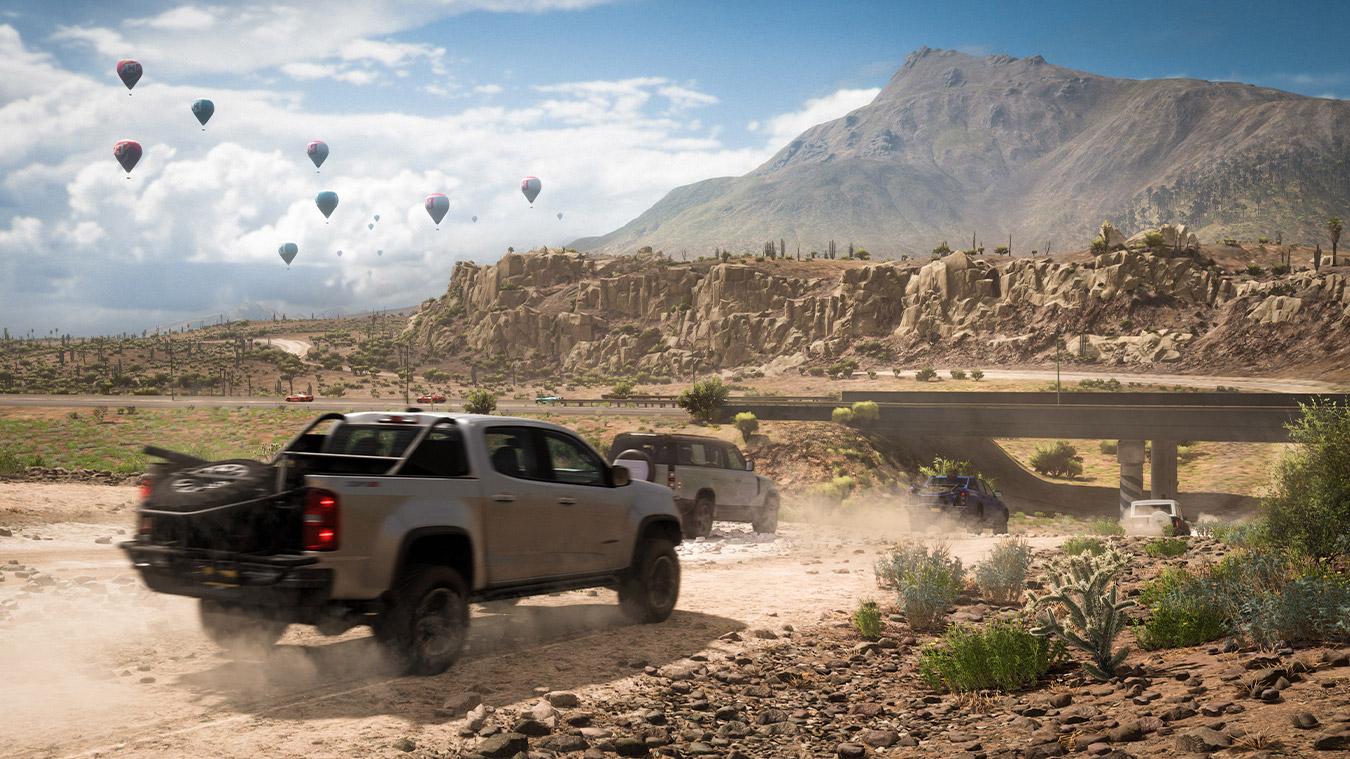 Forza Horizon 5: горный пик в Мексике