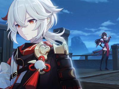 Genshin Impact Archon Quest Autumn Winds Scarlet Leaves Kazuha Story Quest Beidou Inazuma