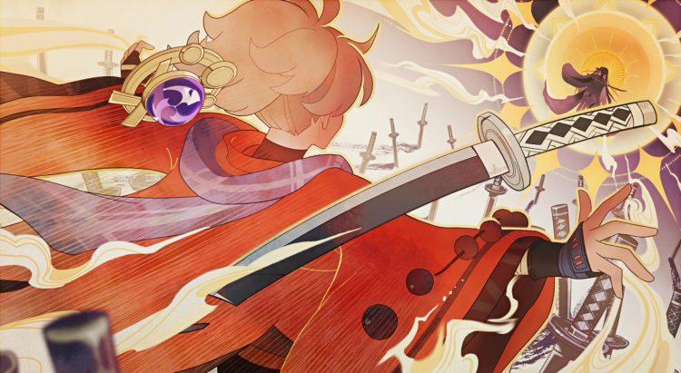 Genshin Impact Archon Quest Autumn Winds Scarlet Leaves Kazuha Story Quest Beidou Inazuma 3