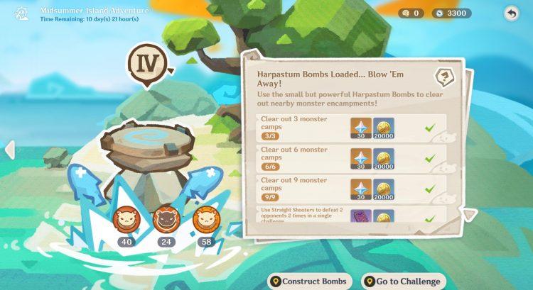 Genshin Impact Harpastum Bombs Loaded Challenge Guide Dodoco Tales 1