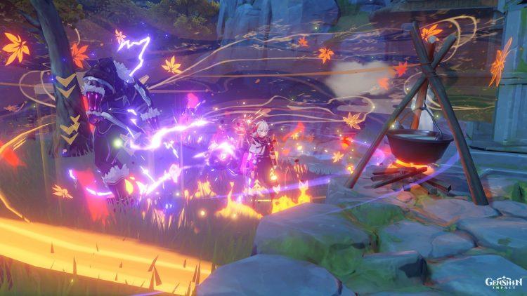 Genshin Impact Kazuha Guide Оружие Артефакты Таланты 3