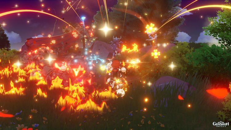 Genshin Impact Klee Руководство Оружие Артефакты Таланты Сборка 3