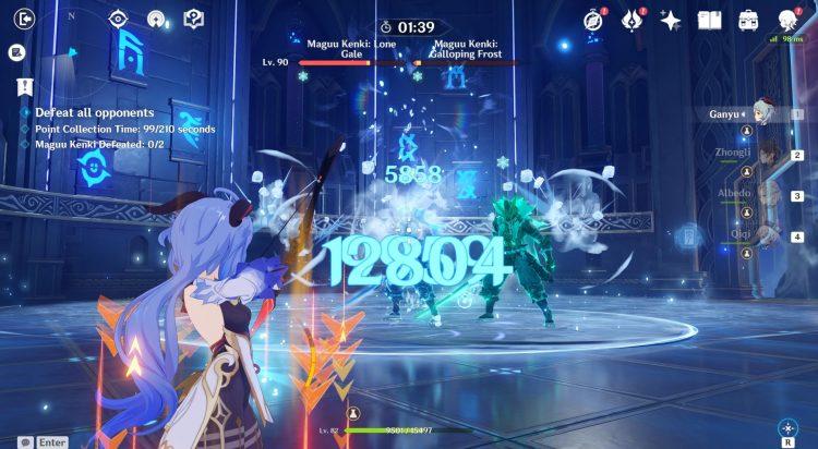 Genshin Impact Legend Of The Vagabond Sword Day 3 Maguu Kenki Two Samurai Guide 4