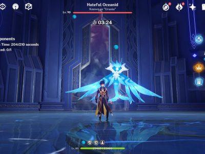 Genshin Impact Legend Of The Vagabond Sword Day 5 Oceanid Urania Guide