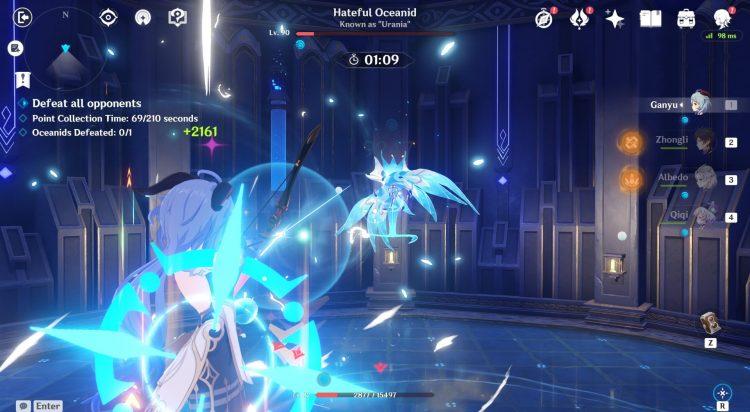 Genshin Impact Legend Of The Vagabond Sword Day 5 Oceanid Урания Руководство 2