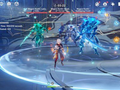 Genshin Impact Legend Of The Vagabond Sword Day 6 Three Maguu Kenki Boss Guide
