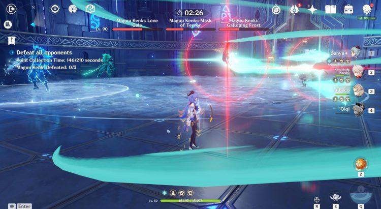 Genshin Impact Legend Of The Vagabond Sword Day 6 Three Maguu Kenki Boss Guide 2