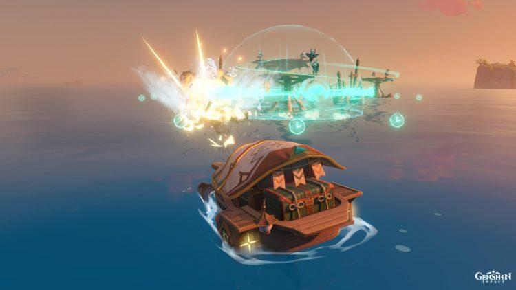 Genshin Impact Make Cannon Make Ready Fire Challenge Guide Waverider Shiny Flotsam 2a