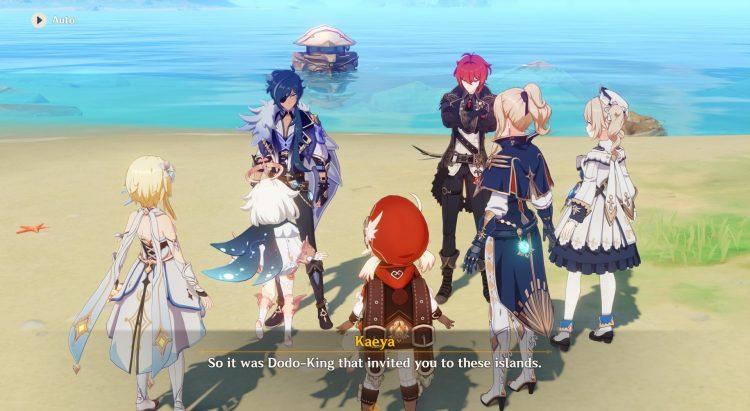 Genshin Impact Midsummer Island Adventure Act 3 Golden Apple Archipelago Maguu Kenki Echoing Conches 1