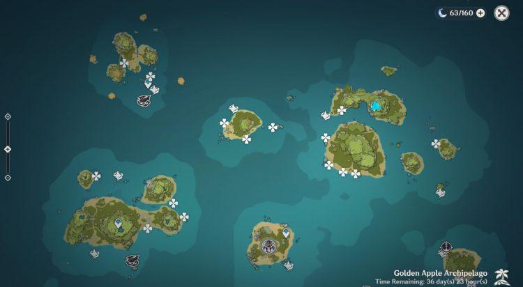 Genshin Impact Sea Ganoderma Farming Locations Guide Kazuha Ascension Material 1