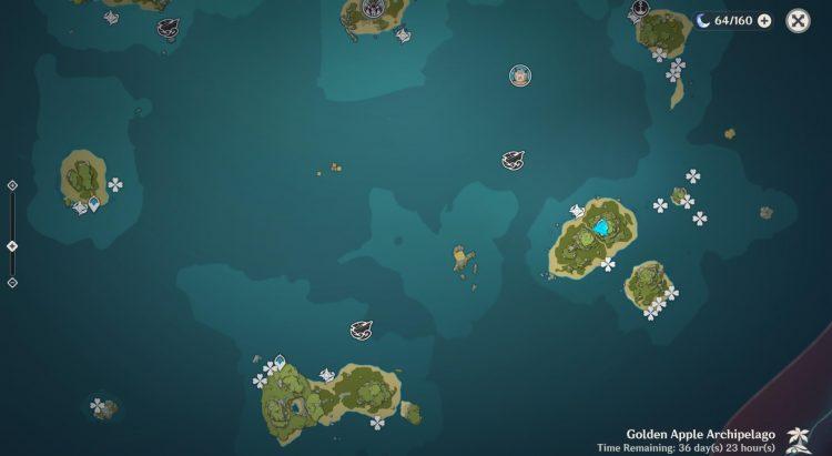 Genshin Impact Sea Ganoderma Farming Locations Guide Kazuha Ascension Material 2