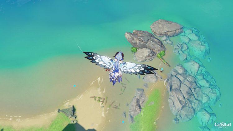 Genshin Impact Sea Ganoderma Farming Locations Guide Kazuha Ascension Material 3