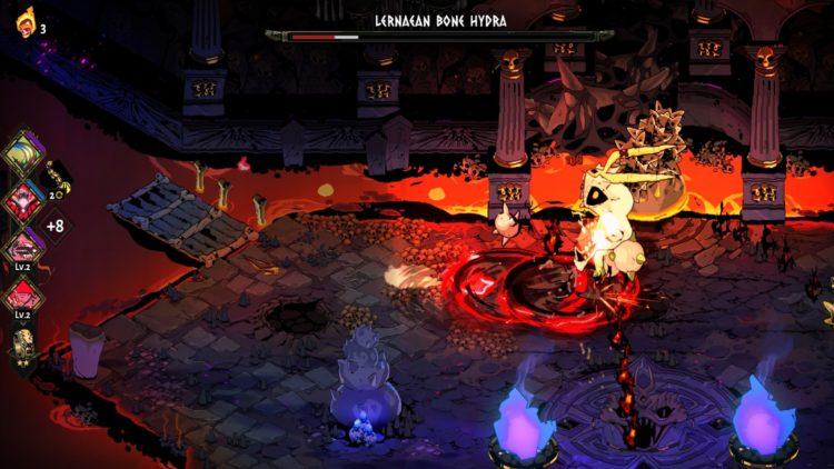 Hades Boss Guide Lernaean Bone Hydra Boss Fight 4a