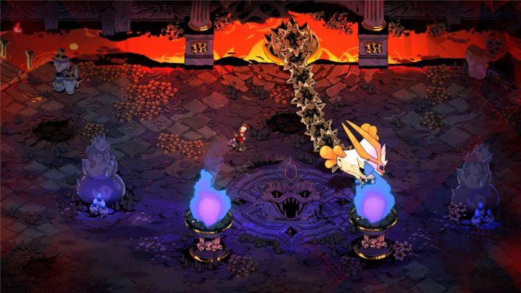Hades Boss Guide Lernaean Bone Hydra Boss Fight Start