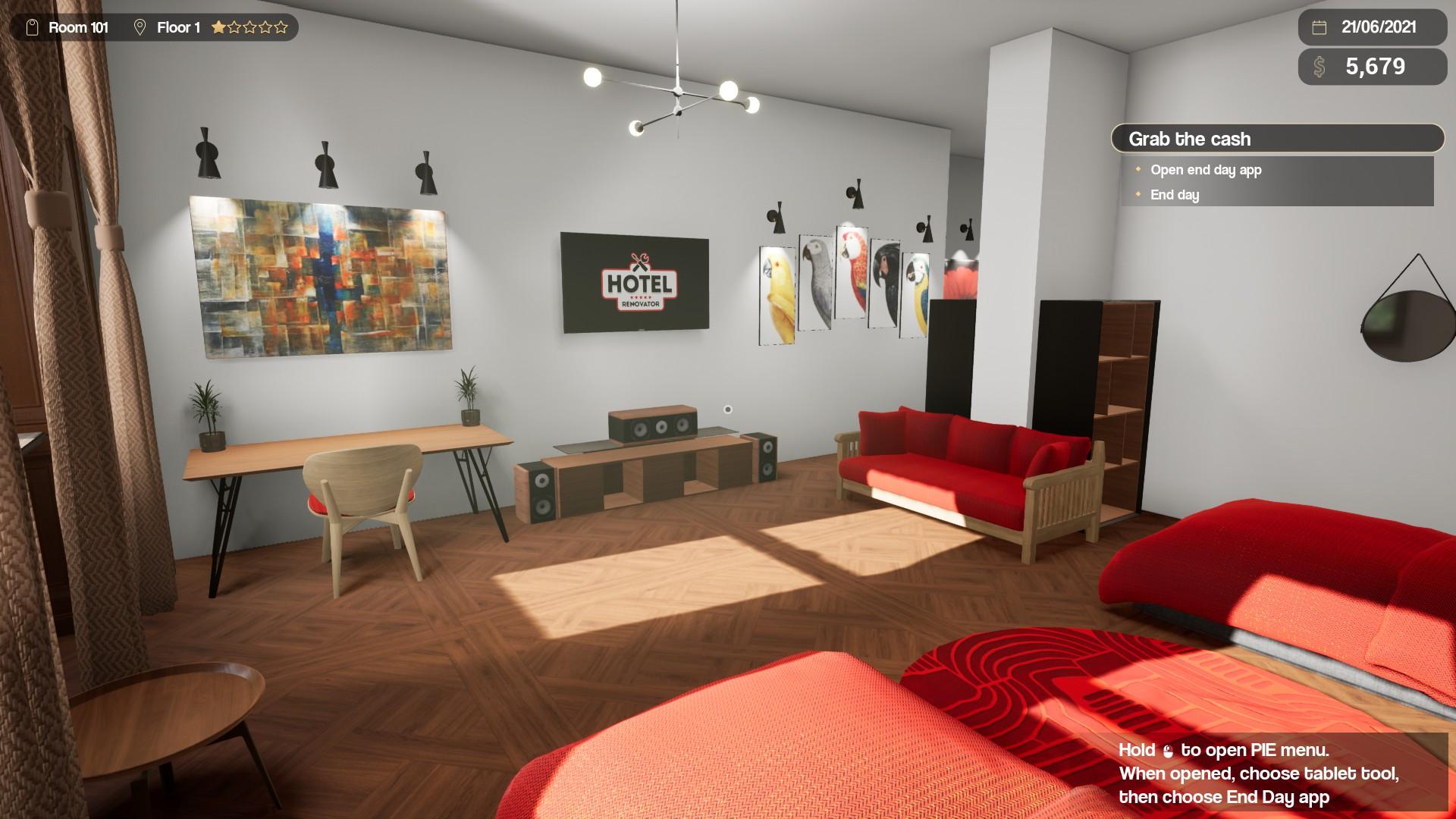 Hotel Renovator Steam Demo