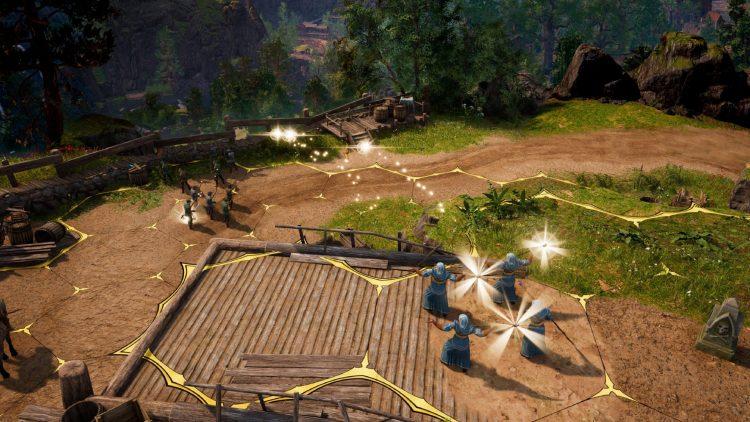 King's Bounty II combat