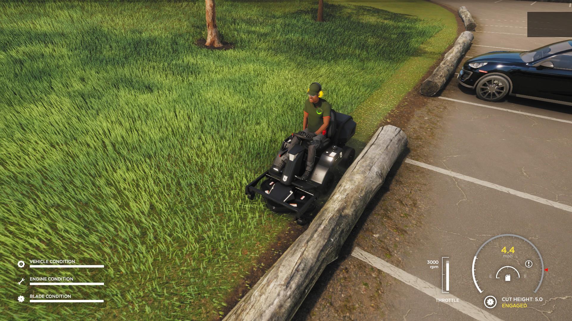 Lawn Mowing Simulator Steam Demo