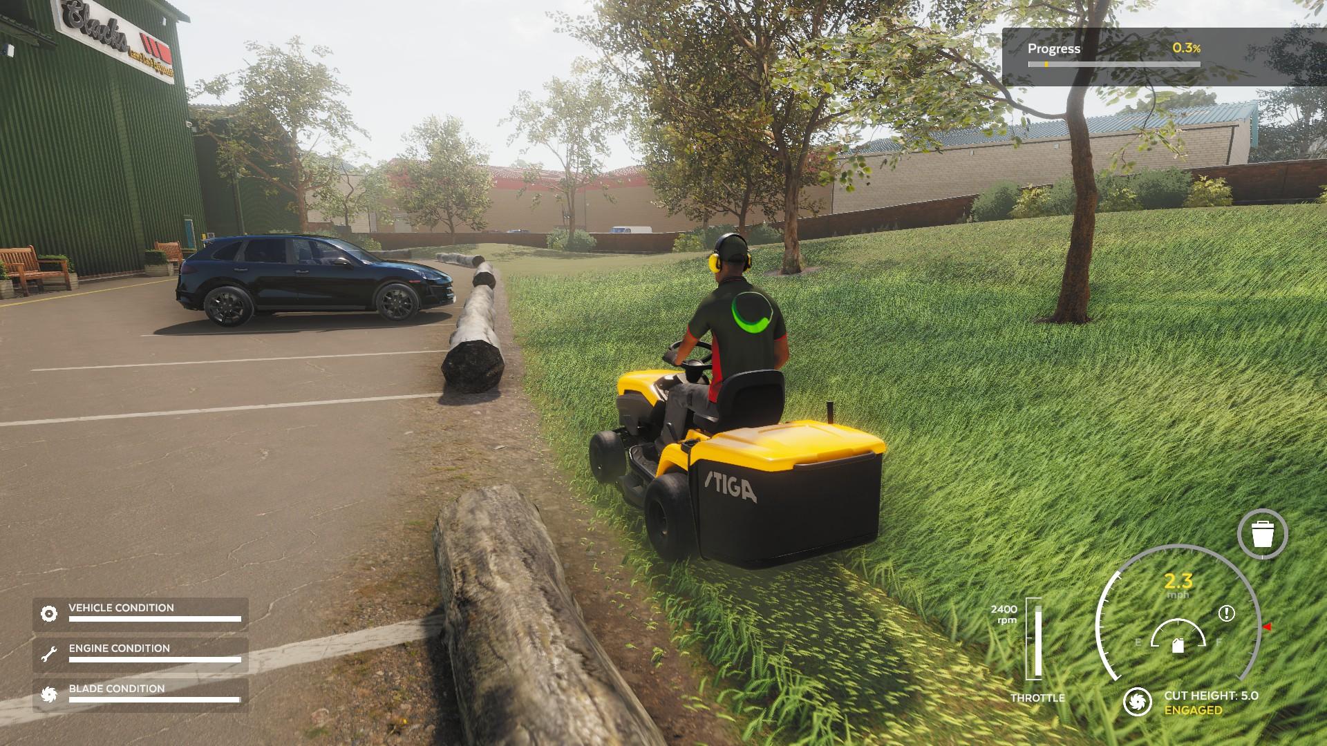 Lawn Mowing Simulator Demo 3