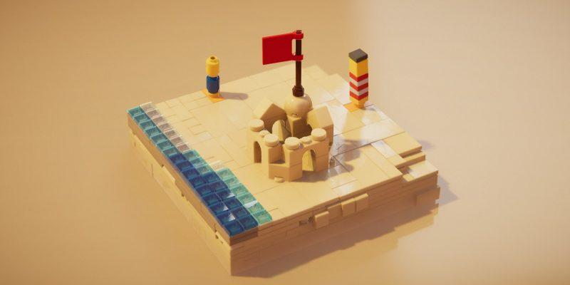 Lego Builders Journey Sand Castle
